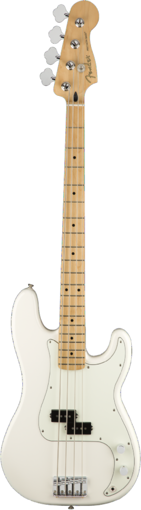 Fender Player Precision Bass Maple Fingerboard Polar White